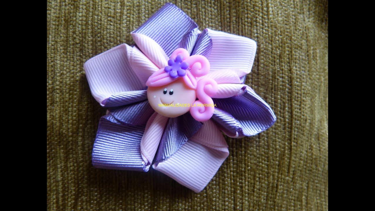 Tutorial flores para decorar mo os lazos accesorios para - Accesorios para decorar ...