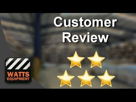 Watts Equipment Co Inc Manteca  Impressive   Five Star Review By Pablo T.