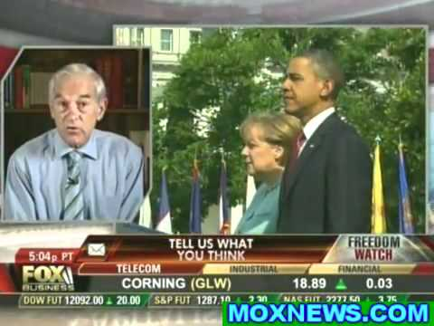 Ron Paul - Corporate Welfare, Military Industrial Complex, Policing the World