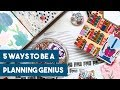 5 Ways to Be a Planning Genius