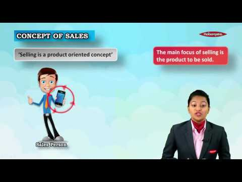10th ICSE, Commercial Studies - Sales and Selling Process- Module 01