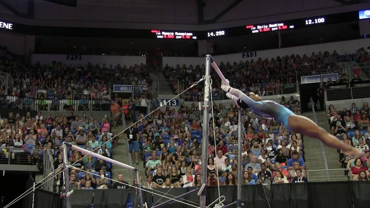 ae2e369675e8 Simone Biles - Uneven Bars - 2016 P&G Gymnastics Championships – Sr. Women  Day 2 - YouTube