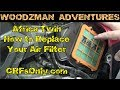 Honda Africa Twin ~ How to Replace the Air Filters ~ Twin Air CRFs Only