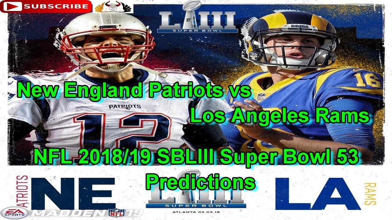 99361106f8e SBLIII SuperBowl 53 New England Patriots vs. Los Angeles Rams NFL ...