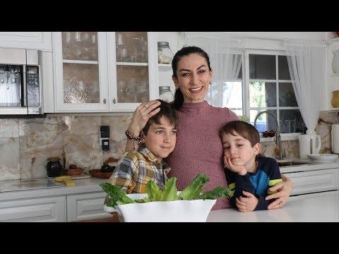 Fridge Garden Salad By Arqa Bek & Mom - Mixed Veggie Salad - Heghineh Cooking Show