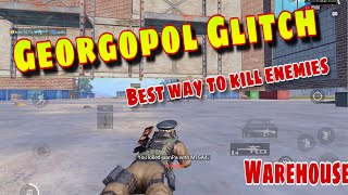 New Glitch In Georgopol (warehouse) get inside the warehouse PUBG MOBILE NEW Invisible GLITCHED