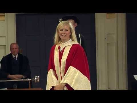 Alison Balsom - Honorary Degree - University of Leicester