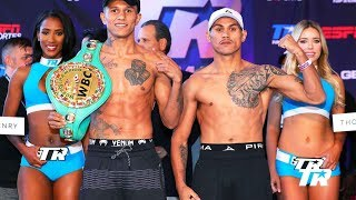 Weigh-in Interview: Miguel Roman