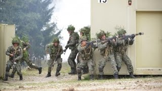Canadian Army vs Albanian Army - Canadian Army Training to Defend Village from Albanian Attack