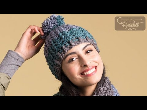 How to Crochet A Hat: Preppy Puff Stitch