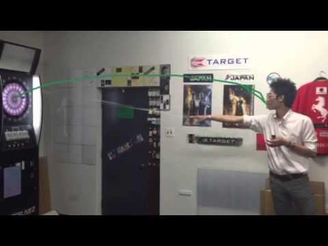 Darts Physics Laboratory 試験動画