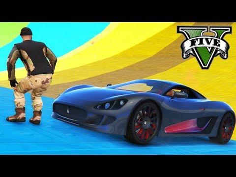 GTA V Online: PARKOUR vs OCELOT XA-21 - 1 CONTRA TODOS!!!