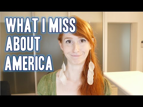 What I miss about America アメリカの恋しいもの5つ