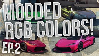 GTA Online: Modded RGB Colors! - 4 Colors! - Episode 2 (HD)