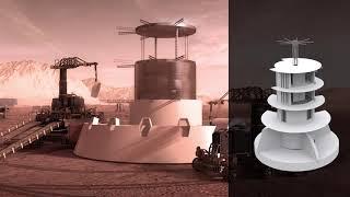 SEArch+/Apis Cor - Phase 3: Level 4 of NASA's 3D-Printed Habitat Challenge