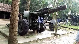 Вьетнам Туннели Ку Чи орудия