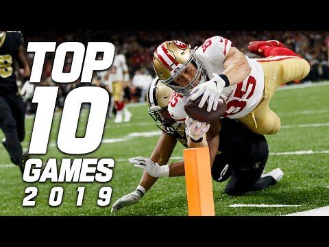 Top 10 Games Of The 2019 Season!