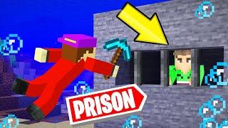 BREAK OUT Of This UNDERWATER MINECRAFT PRISON!