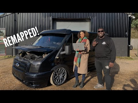 FORD TRANSIT STAGE 1 TUNED BY JEMMA *EPIC*