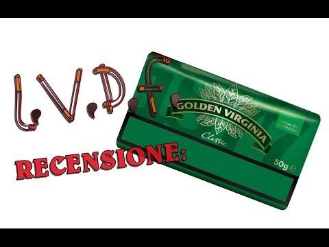 L.V.D.F.: Recensione Tabacco Golden Virginia Classic