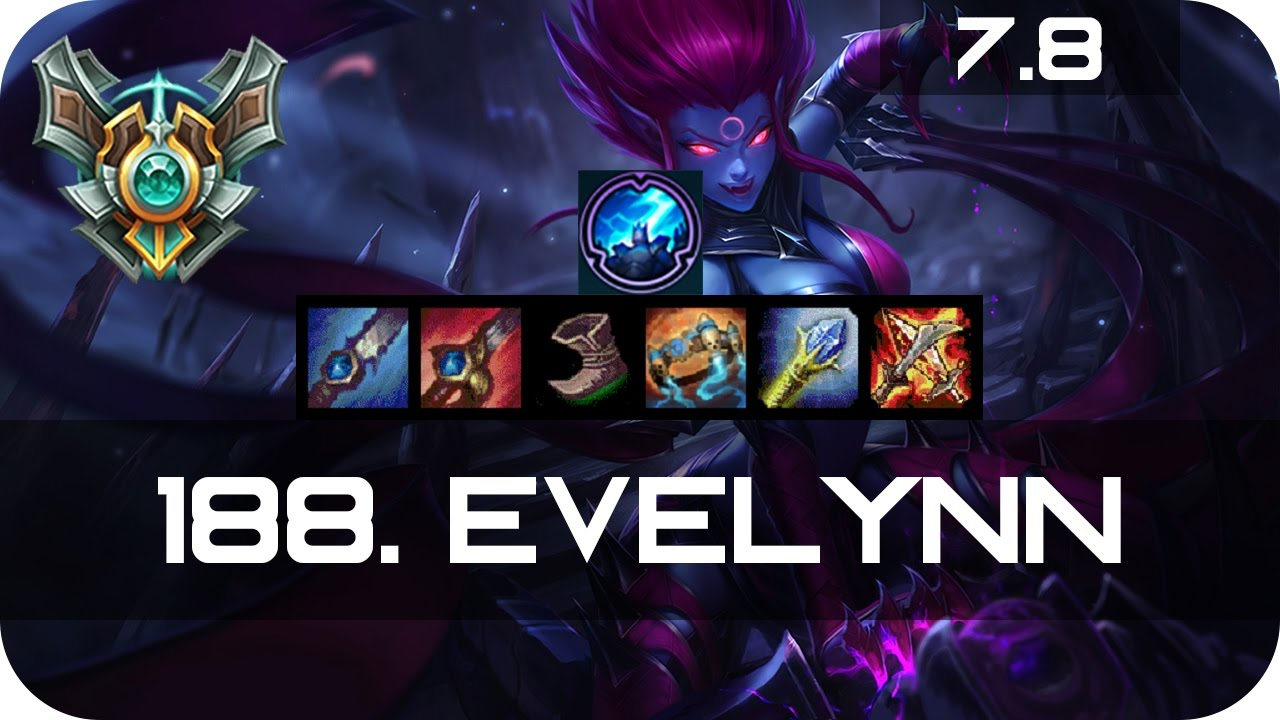 Master Evelynn Jungle Vs Warwick Season 7 S7 Patch 7 8 2017 Gameplay Guide Build Normals Youtube