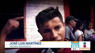Vecinos denuncian excesos de policías de la CDMX en San Juanico   Noticias con Francisco Zea