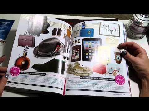 ASMR Page-turning Las Vegas magazines- SILENT-no talking