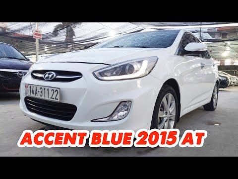 Đẹp mà rẻ thì sao lại không mua? Hyundai Accent blue 2015 số tự động nhập Hàn | Thành Auto