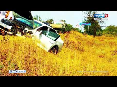 В ДТП на трассе Симферополь-Джанкой погиб человек