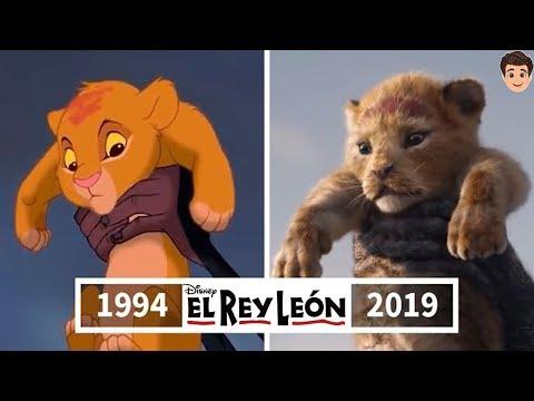 EL REY LEÓN: Antes y Después | DISNEY
