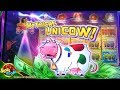 UNICOW JACKPOT !!! 500+ FREE SPINS on Invaders Return From Planet Moolah on Wms Video Slot