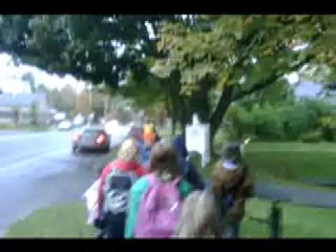 Safe Routes to Schools Week: October 2009 at Waitsfield Elementary School