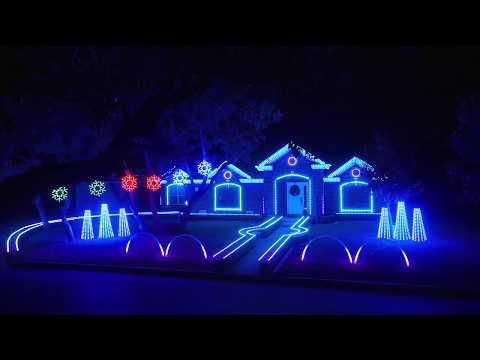 LED Decorative Light On Christmas Light Show