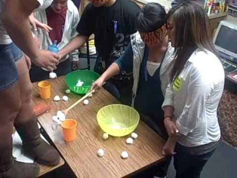 Mary Elizabeths Baby Shower Cotton Ball Games Youtube