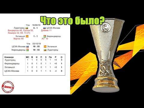 Стартовала Лига Европы. Результаты 1-го тура. Что это было??? Таблицы всех групп, расписание.