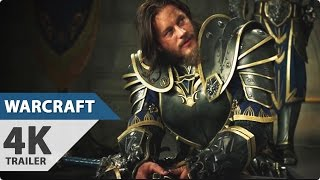 4K: Warcraft Movie Official Trailer (2016) Dominic Cooper [2160p Ultra HD]