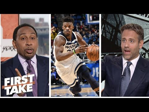 Stephen A., Max Kellerman debate Jimmy Butler trade partners | First Take | ESPN