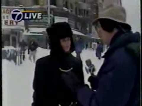 Blizzard in New York January 1996
