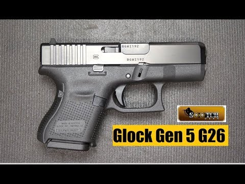 Gen 5 G26 Baby Glock Pistol Review Youtube