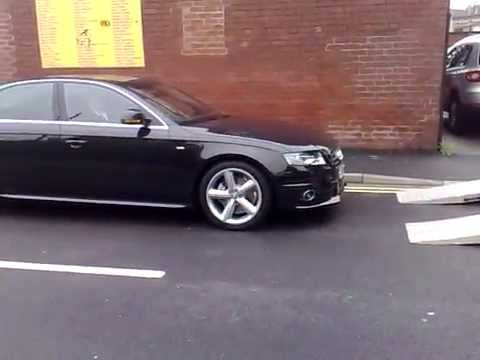 new audi a4 s line b8 delivery youtube. Black Bedroom Furniture Sets. Home Design Ideas
