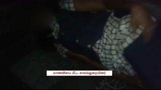 Drunk School Girl Rescued In Coimbatore   Tamil Nadu   News7 Tamil