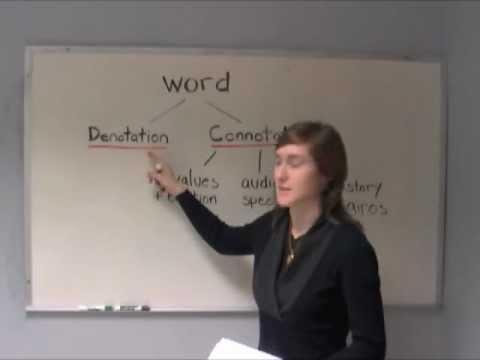 SPURS - Introduction to Connotation & Denotation