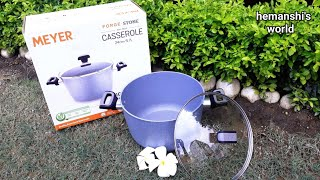One of the Best cookware for cooking - Meyer Casserole - hemanshi