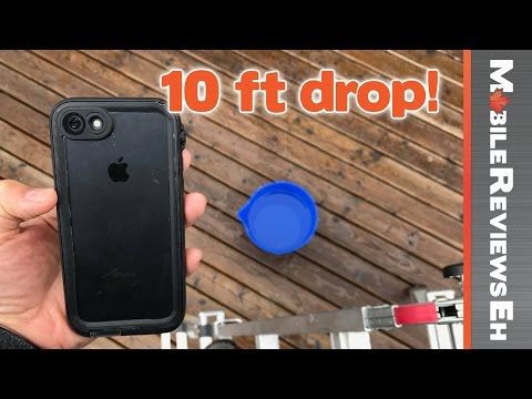 One of the BEST 360 degree protection cases for the iPhone 7/7 Plus - Catalyst Waterproof Review