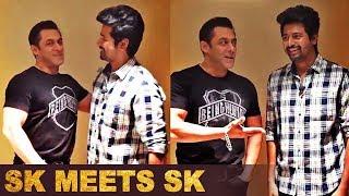 Salman Khan Meets Sivakarthikeyan | Hero Tamil Movie | Dabangg 3 Tamil