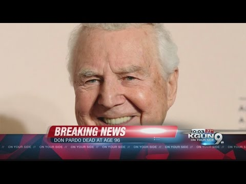 Don Pardo dies at 96 in his Tucson home
