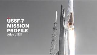 Atlas V USSF-7 Mission Profile