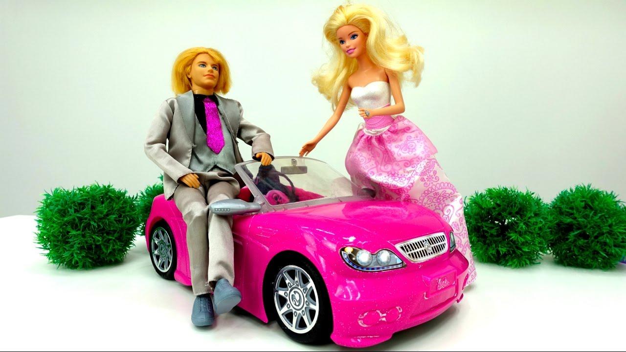 Мультфильм с куклами Барби. Подарок от Кена Дом мечты. Видео для детей 15