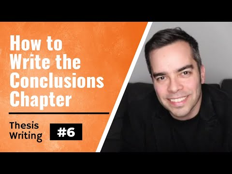 Thesis/Dissertation Tips #6: Writing Your Conclusions