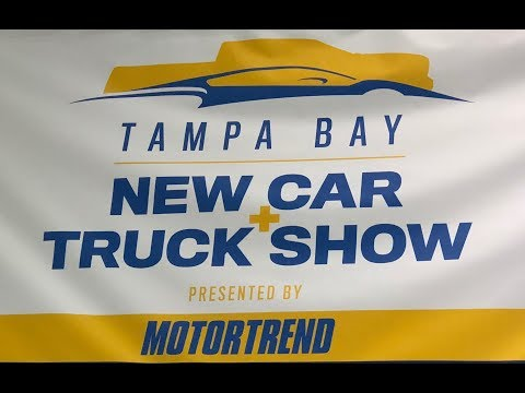 TAMPA CONVENTION CENTER TAMPA BAY 2018 AUTO CAR SHOW PRESENTED BY MOTORTREND